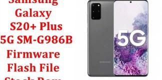 Samsung Galaxy S20 Plus 5G SM G986B