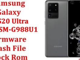Samsung Galaxy S20 Ultra 5G SM G988U1