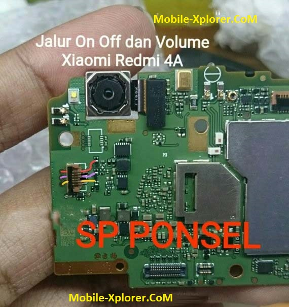 Xiaomi Redmi 4A Power Key And Volume Key Problem Jumper Solution