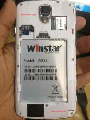 WINSTAR W333 Firmware Flash Stock Rom Without Password
