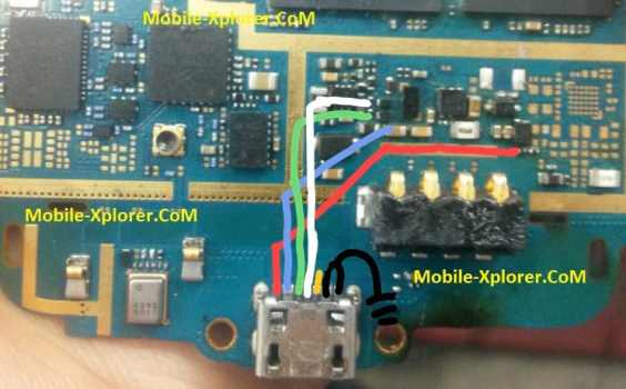 Samsung Young 2 Duos G130 Charging USB Problem Solution