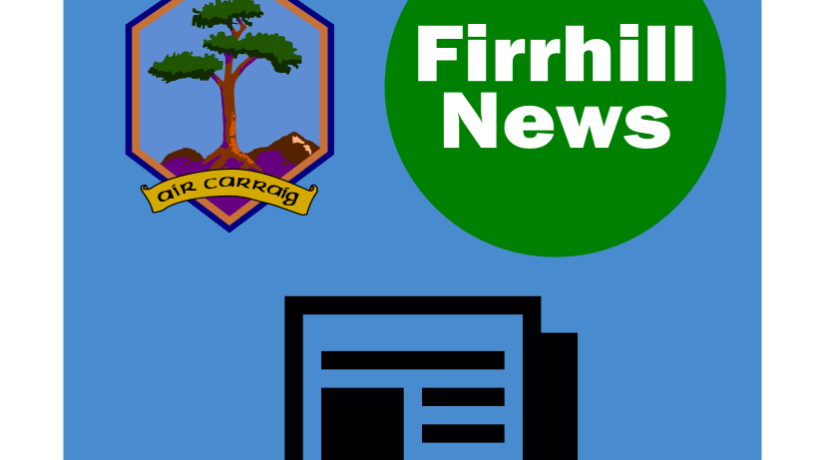 February Edition of the Firrhill News