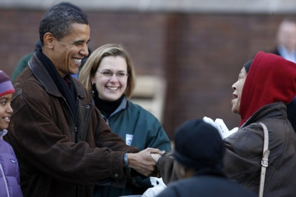 Obama.foodbank