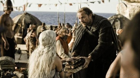 Daenerys Targaryen - Emilia Clarke _ Ser Jorah Mormont - Iain Glen - Game of Thrones 014