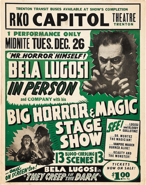 Lugosi spook show