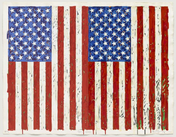 Jasper-Johns-Flags-I
