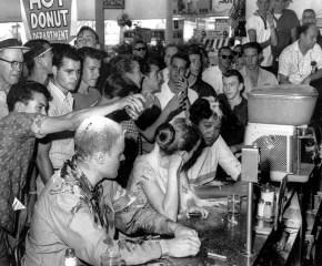 LunchCounterSegregationProtest