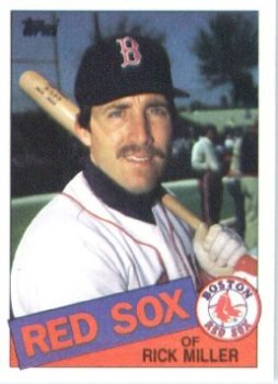Rick Miller 1985 BoSox