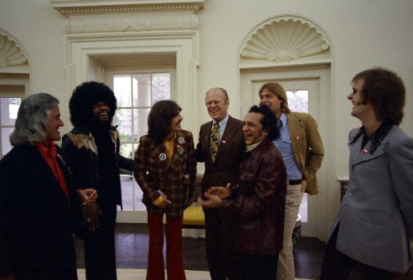 Harrison 1974 tour color