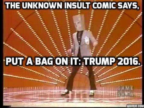 Unknown Insult Comic Meme