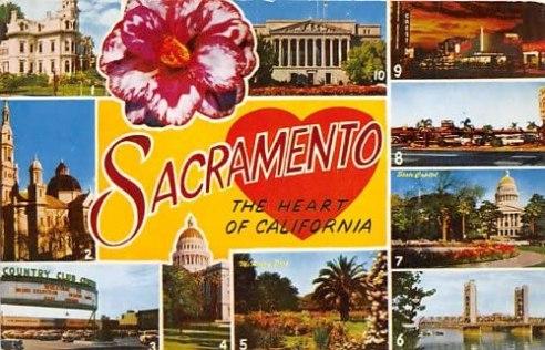 Sacramento Postcard
