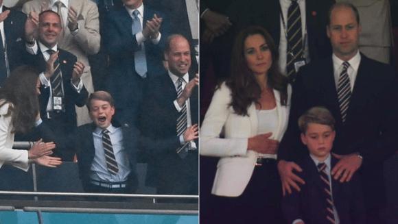 Prince George At Euro 2020 Final