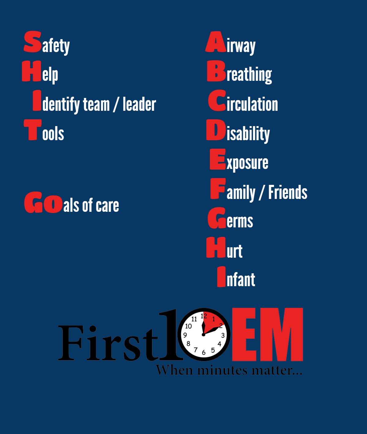 A general approach to resuscitation - First10EM