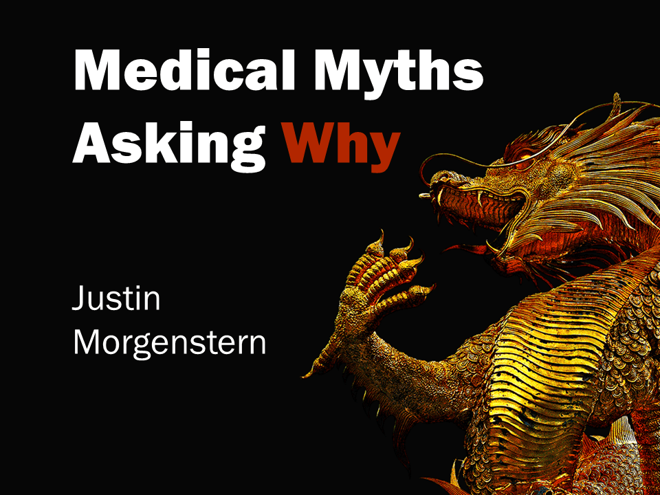 First10EM medical myths title slide