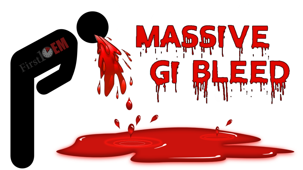 Management of the Massive GI Bleed