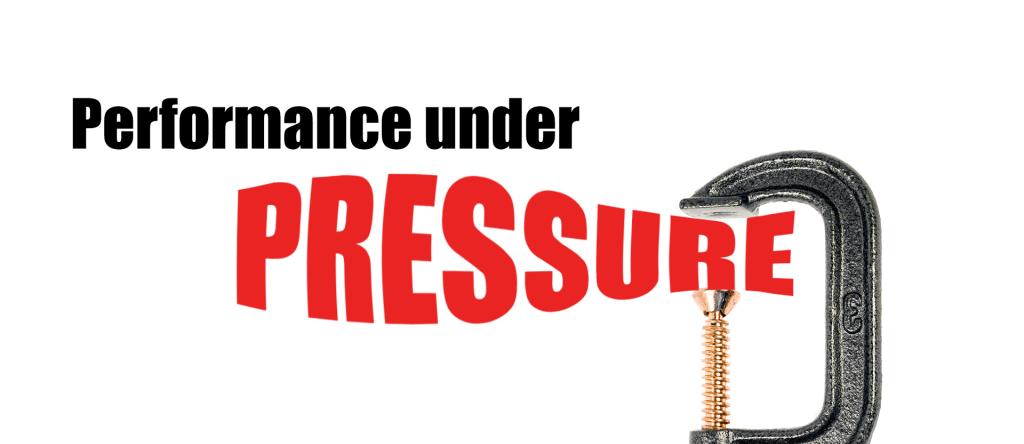 managing stress - performance under pressure