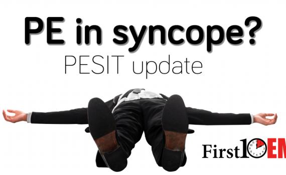 PE in syncope
