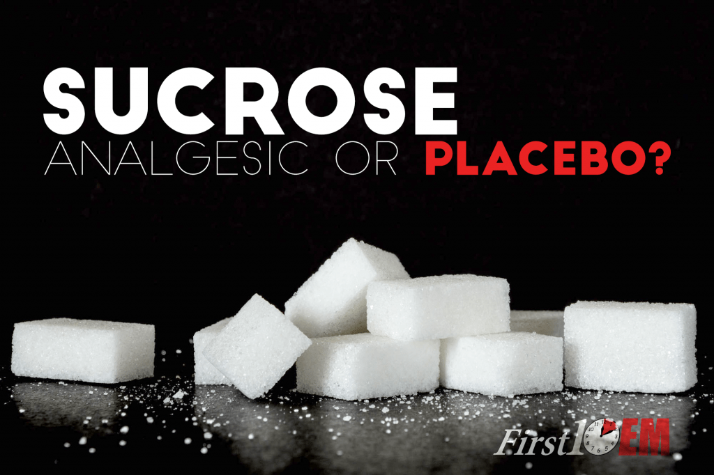 Sucrose is not a pain medication