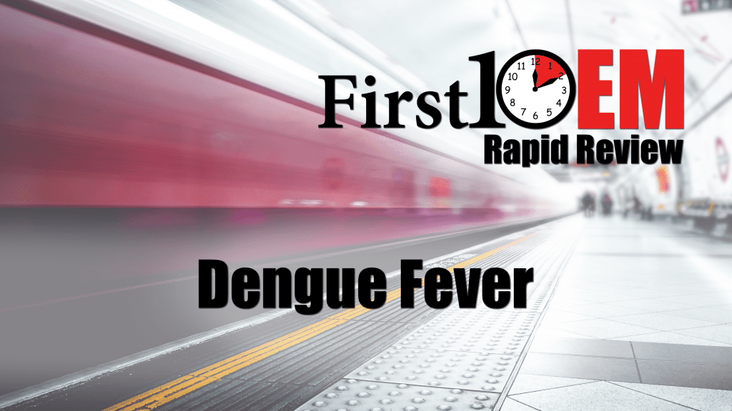 Dungue Fever Title Image