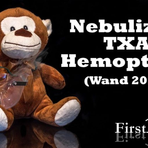 Nebulized TXA for hemoptysis WAND 2018