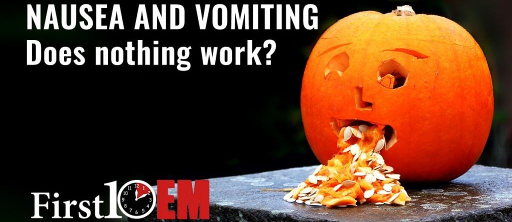 Nausea and vomiting in the emergency department