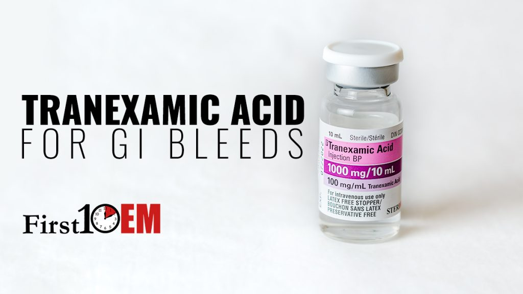 TXA for GI Bleeds