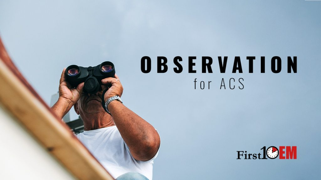 Observation for ACS title image