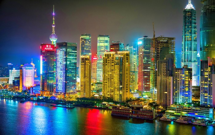 Colorful-Shanghai-City-Night-HD-Wallpaper