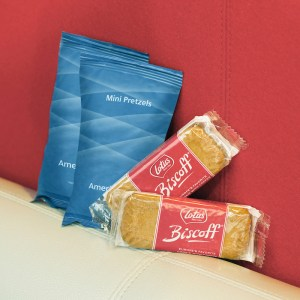 American Airlines Free Snacks