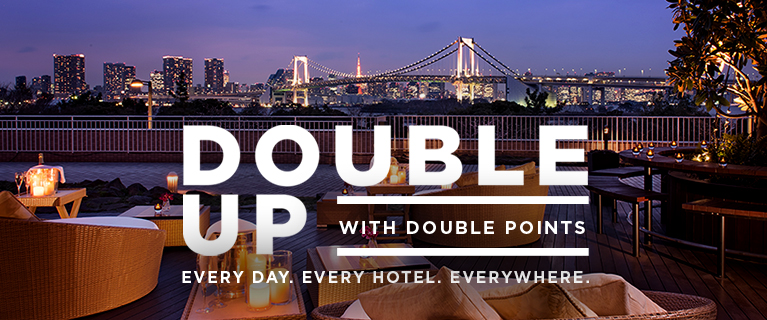 Earn Double Points at Hilton