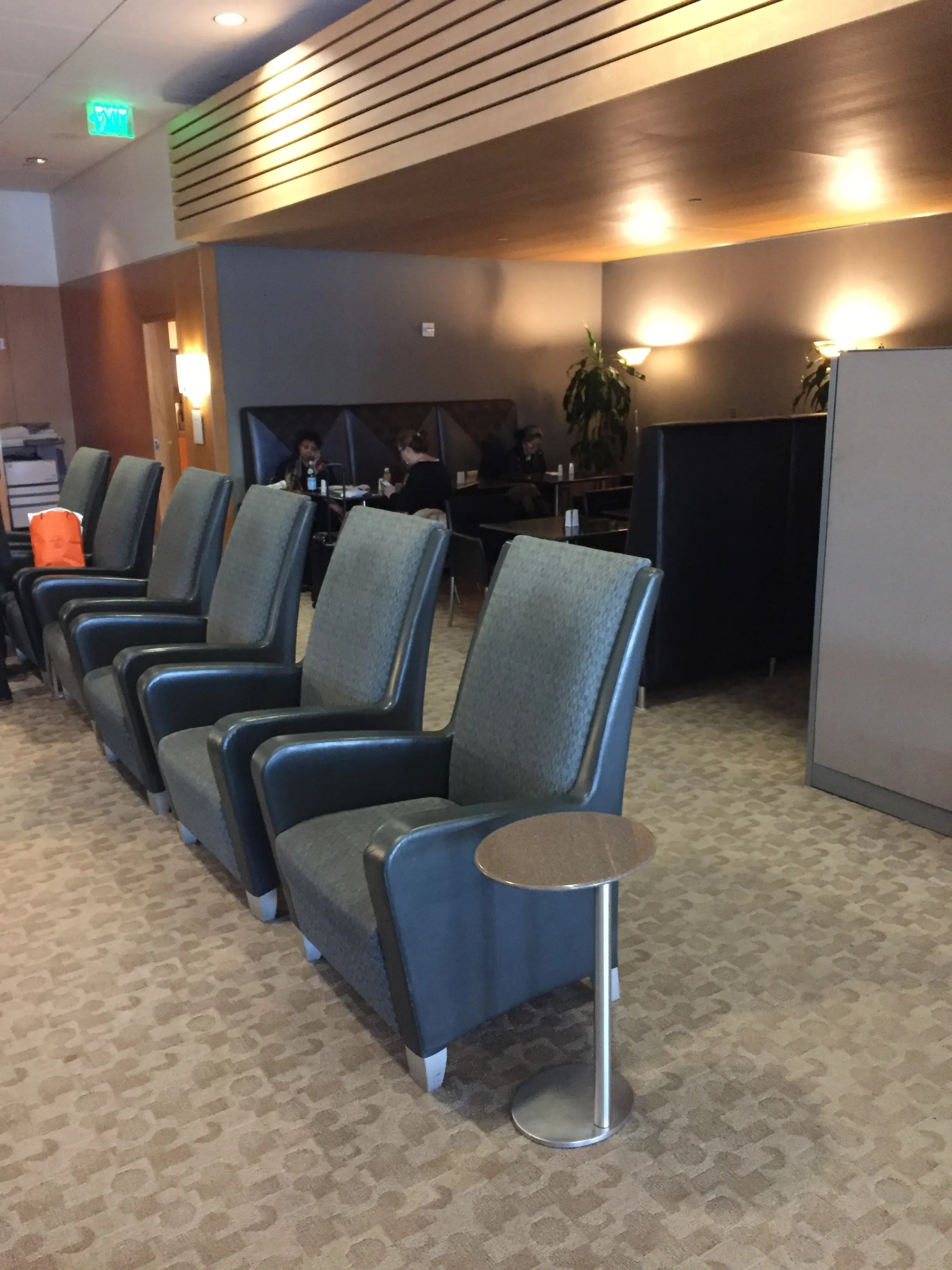 American Airlines Admirals Club First Class Lounge LAX