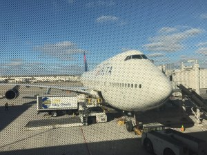 Mile run Delta One DTW NRT