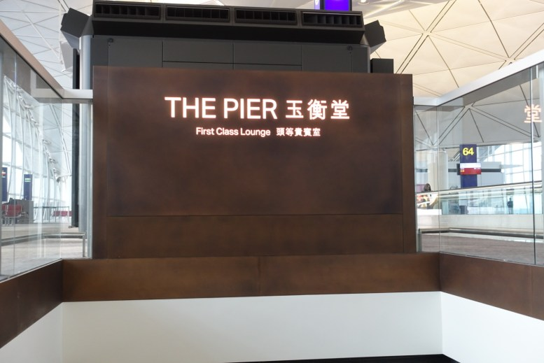 Cathay Pacific The Pier Lounge