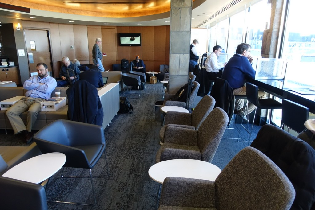 Delta Skyclub Chicago O'Hare Airport