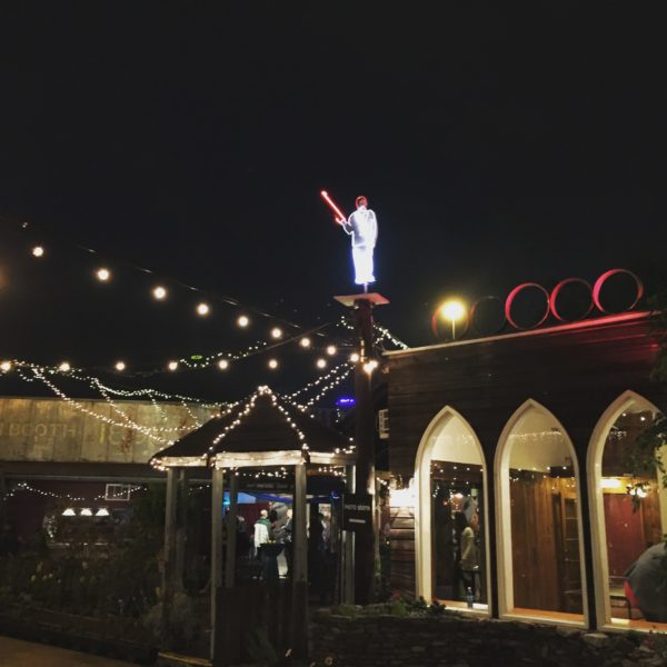 Awesome Rocket City Adventure Party in a Lumberyard