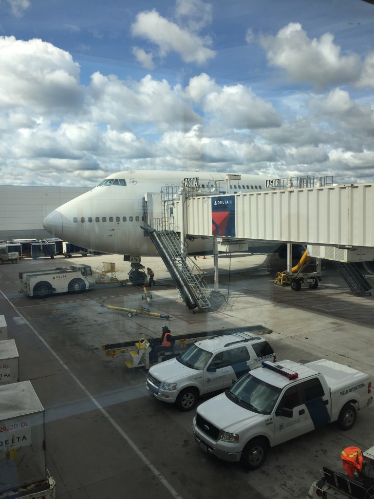 Singapore Mileage Run Adventure Delta Airlines Detroit Tokyo on 747