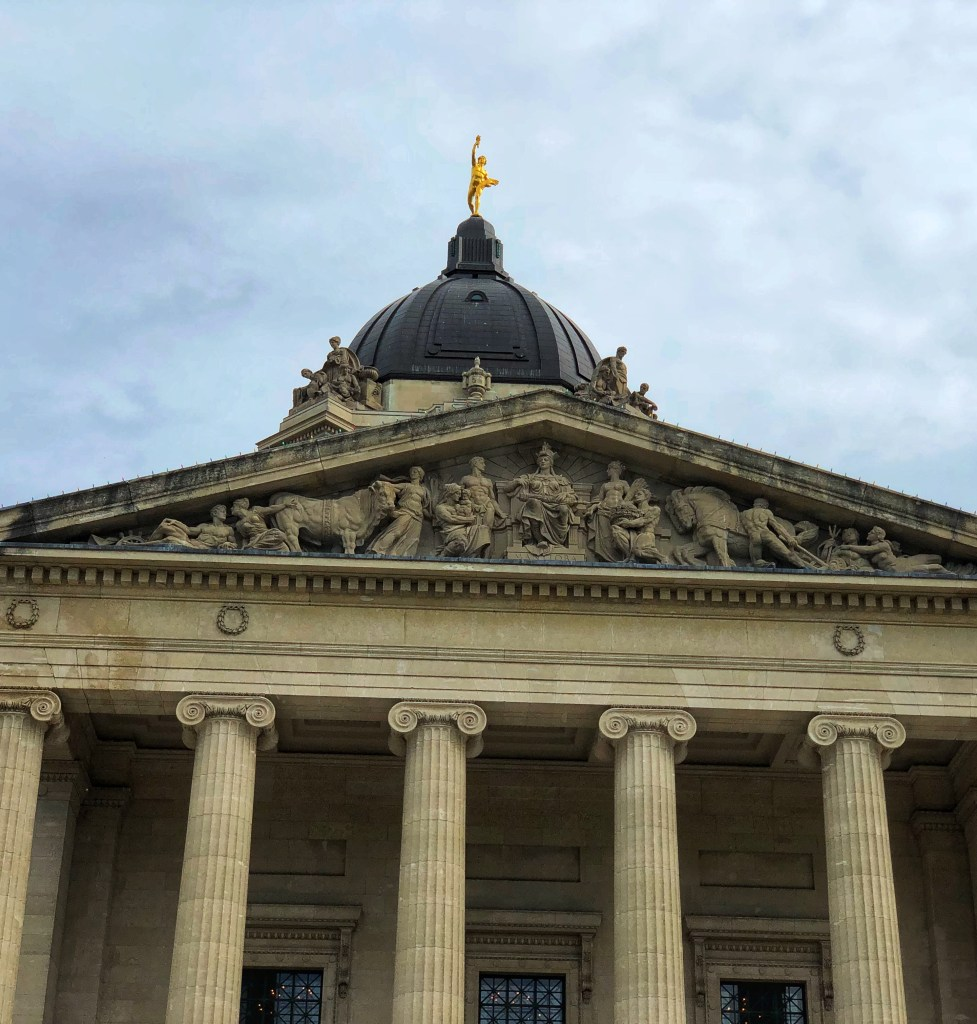 Manitoba Legislative Building Tour and Hermetic Code