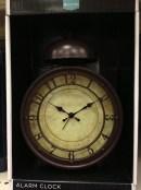 time brown alarm
