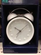 time white alarm