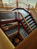 Cherry Hill Library staircase