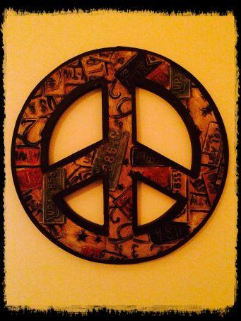 Peace vintage