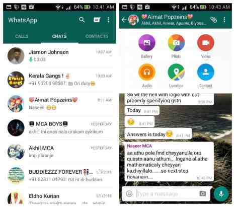 WhatsApp Messenger 2.16.341 Beta Apk Mod Version Latest