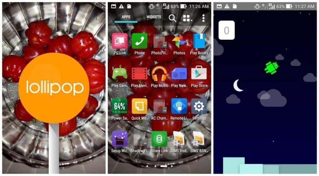 Zenfone 4 to Lollipop how manually