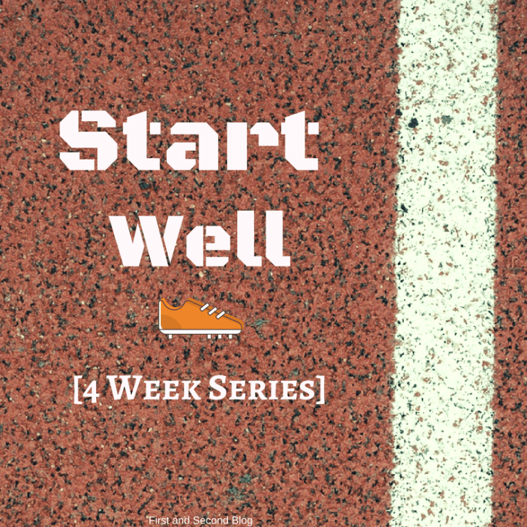 blog series of starting well and new beginnings