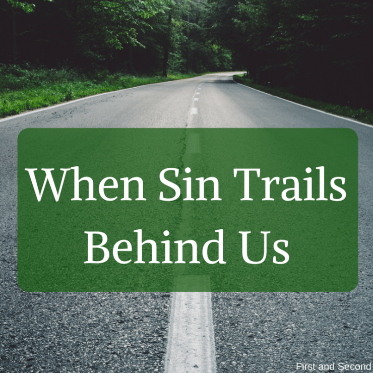 Bible verse about sin and the consequences of sin. Post talks about how sin affects us long after it is done, but God's grace still applies.