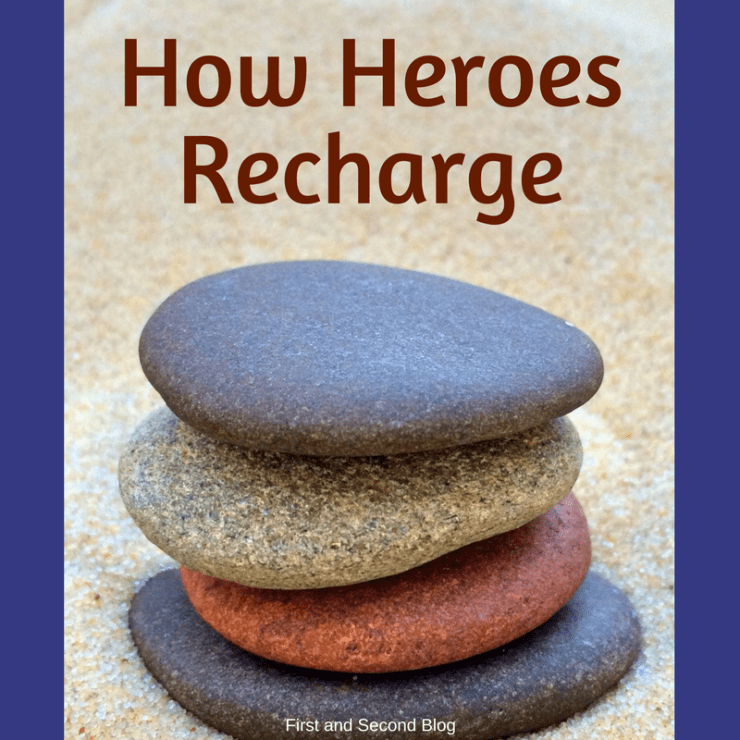 How the heroes of the faith recharged