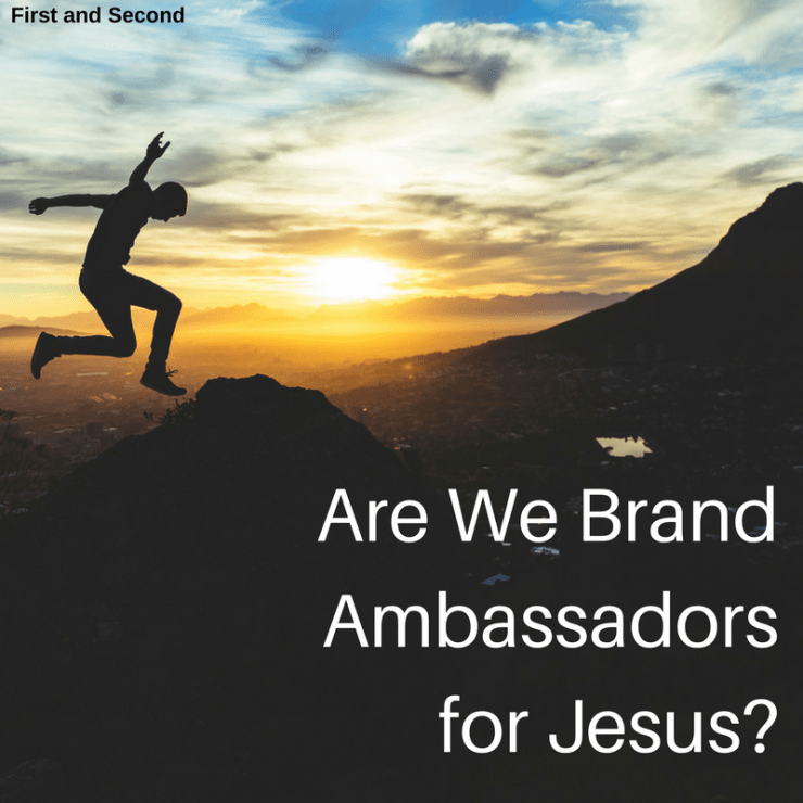 We are to be ambassadors for Christ