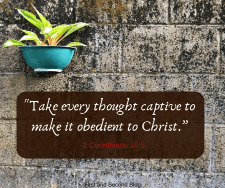 Bible verse about thinking and thoughts