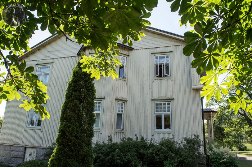 Voipaala manor, the main building.