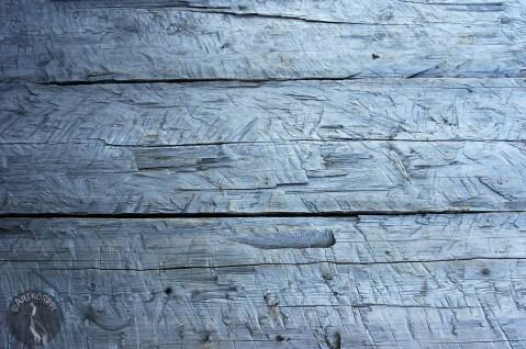 Old stair wood in Haikola.